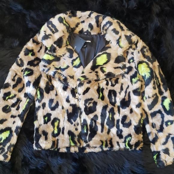 Fashion Jackets & Blazers - 💚Cyber Leopard🖤